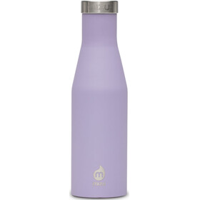 MIZU S4 Bottle with Stainless Lid 400ml purple